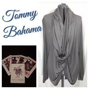 NWT Tommy Bahama Cliff Multi-way Jersey Cardigan